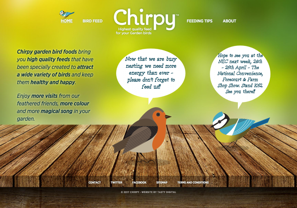 Chirpy Bird Foods